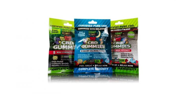 Hemp Bombs CBD Sleep Gummies