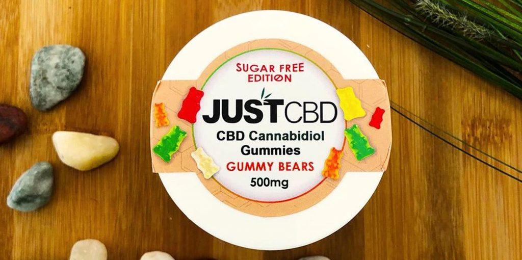 JustCBD Sugar-Free CBD Gummies