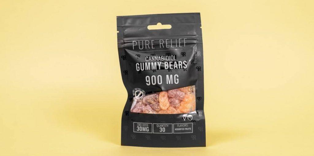 Pure Relief Pure Hemp CBD Gummy Bears